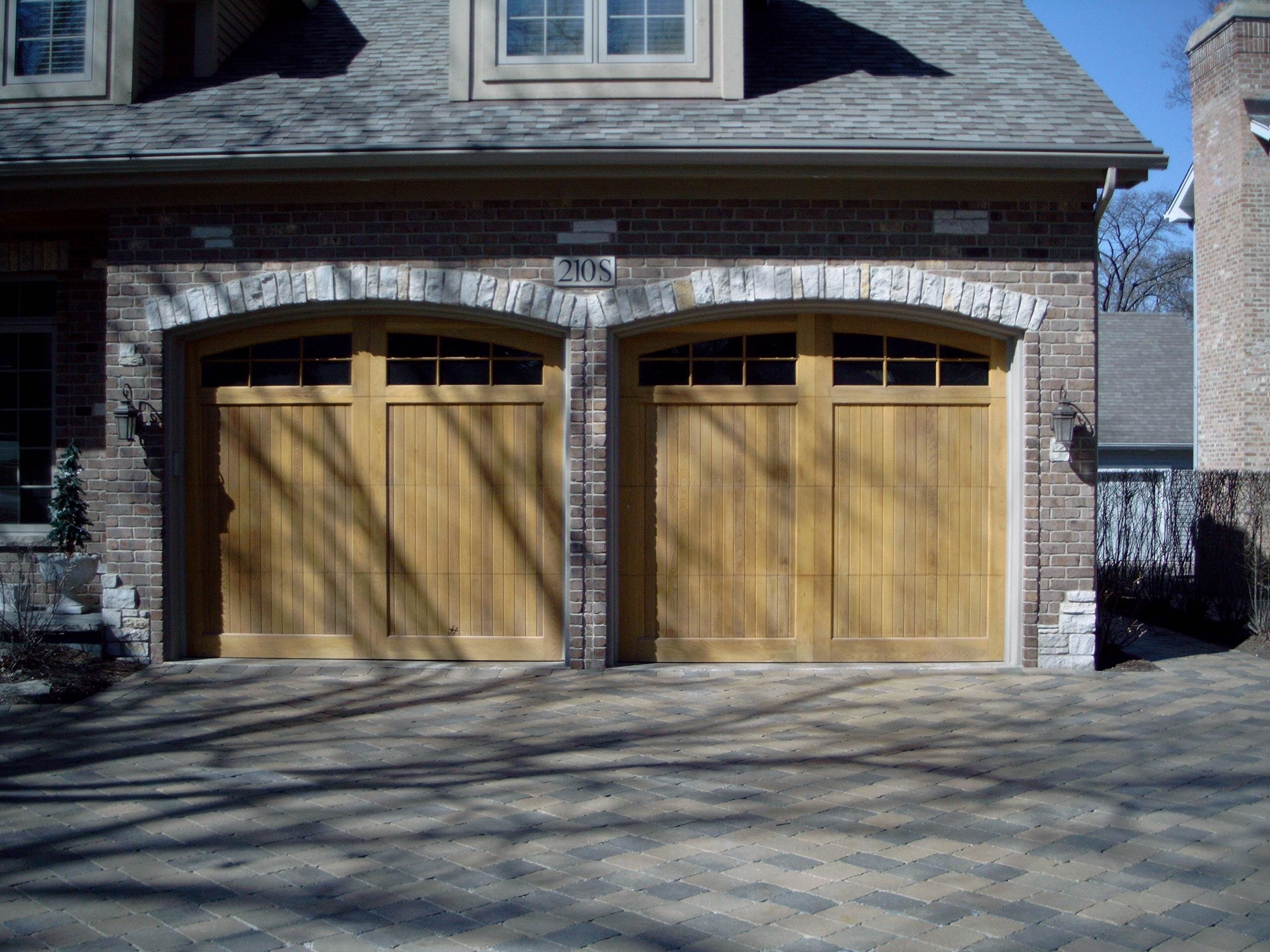 2   9u0027 X 8u0027 Unstained Custom Crafted Wood Doors